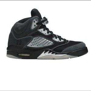 Air Jordan retro 5 'anthracite' size 8